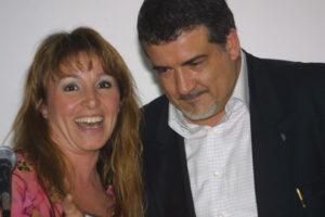Sonia Tallevi e Stefano Fabrizi