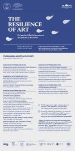 Mostra Personale di Carlo Iacomucci e programma conferenze mese di ottobre 2021