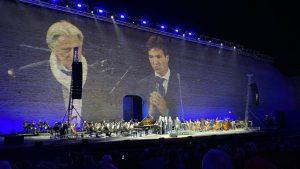 E lucean le stelle Bocelli allo Sferisterio 210905