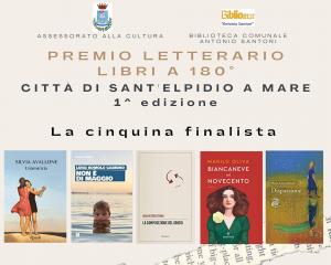 PREMIO LIBRI A 180 GRADI - CITTÀ DI SANT'ELPIDIO A MARE