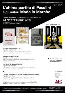 Pasolini, Cinema Margherita