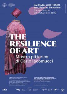 """The Resilience of Art"" locandina"