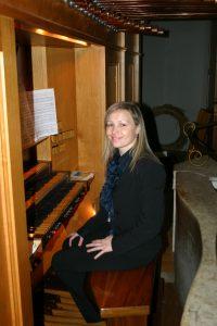 Organista Stefania Mettadelli