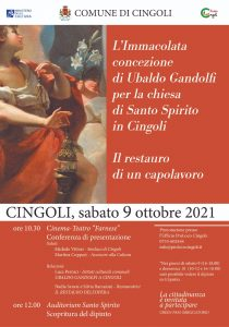 Presentazione restauro Gandolfi